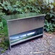 Бункерная кормушка для птицы БК5-2 (25л) фото