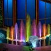 Музыкальное оформление фонтанов. фото