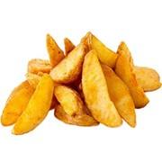 Доставка закусок - Картофель по-деревенски (Средняя порция) фото