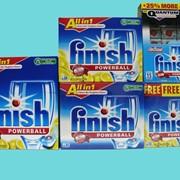 Средство для мытья посуды в посудомоечных машинах Finish (Calgonit) PowerBall 45 шт. фото