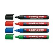 Набор перманентных маркеров, круглый наконечник, 1,5-3 мм, 4 цвета в наборе Ассорти фото