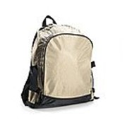 Спортивный рюкзак с большим карманом 330х230х105 серый полиэстер 600d фото