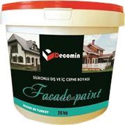 DECOMIN FAÇADE PAINT - Фасадная краска на основе силиконовой эмульсии фото