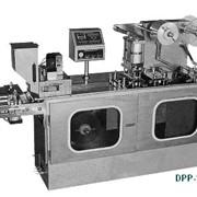 Блистерные упаковочные машины с планшетным формированием блистера DPP-130 фото