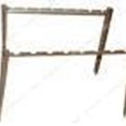 Подставка под 6 шампуров (сталь 0, 8 кп; тол 1-1, 2мм длина 0, 35м высота 0, 5м без покрытия) №748040 фото