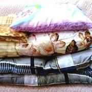 Матрац,одеяло и подушка эконом фото
