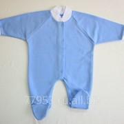Комбинезон детский 3367-ф футер, размер 44-68 фото