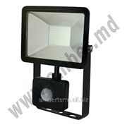 Прожектор светодиодный 4 с датчикам 30W SMD IP65 6500K Horoz (0680040030) фото