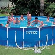 Бассейн (круглый) каркасный Intex 28252 (549*122 см) фото