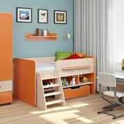 Детская комната Легенда 6 венге светлый/оранж фото