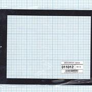 Сенсорное стекло (тачскрин) QSD E-C8015-01 черный фото