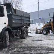 Уборка и Вывоз снега в Гомеле фото