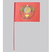 Флажок малый ГЕРБ СССР 15х22 фото