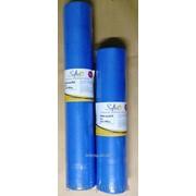 Простынь одноразовая, темно-голубой 20, 23гр/м 0,6 и 0,8 х 100м. фото