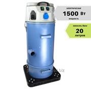 Малогабаритный промышленный пылесос – 20 литров, HEPA фильтр фото