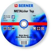 Круги отрезные по металлу ТМ Berner ТОР 115 x 1,6 x 22,23, артикул 38274 фото