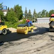 Асфальтирование. Строительство. Ремонт дорожного покрытия. Грунтовые дороги фото