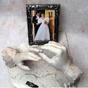 Свадебные слепки, свадебная скульптура фото