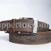 """Кожаный ремень для джинсов 45мм от производителя ТМ """"Skipper"""" фото"""
