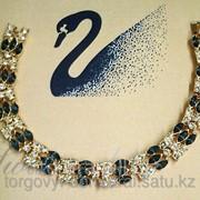 Браслет с кристаллами Swarovski, код 5228183 фото