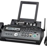 KX-FC278RU-T Panasonic факсимильный аппарат на основе термопереноса, Чёрный фото