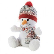 Игрушка грелка WARMIES CP-SNO-1 Снеговик фото