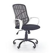 Кресло компьютерное Halmar DESSERT (белый/черный) фото
