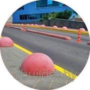 Парковочные барьеры из бетона фото