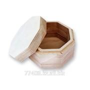 Заготовки для декупажа Шкатулка деревянная Гера фото