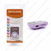MP3 плеер пластиковый (Фиолетовый) фото