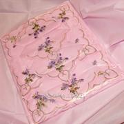 Скатерть с вышивкой 1711 фото
