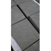 Плитка тротуарная Черепашка серая 30х30х3 см фото