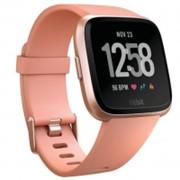 Умные спортивные часы Fitbit Versa Smartwatch Peach/Rose Gold Aluminium One Size (S & L) (FB505RGPK-EU) фото
