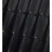 Керамическая черепица Roben Bornholm чёрно-коричневая фото