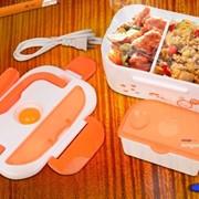 Контейнер для еды с подогревом фото