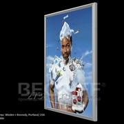 Световая панель BEGRIFF серии Frame односторонняя настенная А3 фото