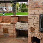 Эскиз ,проект ,изготовление барбекю каминов ,систем отопления на твердом топливе ,дымоходов под ключ фото