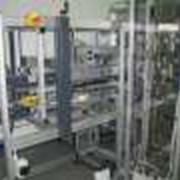 Упаковочная линия. Модульные элементы системы ITEM широко используются для создания разного рода технологических линий, станков, испытательных стендов, нестандртного оборудования. фото