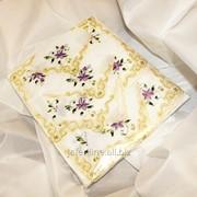 Скатерть с вышивкой 1701 фото