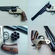 ММГ Револьвер системы Смит и Вессон 6ти зарядный 1869г фото