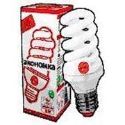Лампа энергосберегающая ЭКОНОМКА SPC13wE1427eco, 13 Вт, теплый свет, цоколь 14, спираль Т3 фото