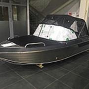 Алюминиевый моторный катер Тактика 430 DC фото