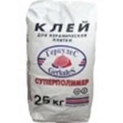 Клей для кафеля Суперполимер Геркулес 25кг фото