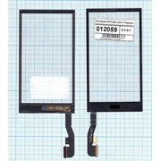 Сенсорное стекло (тачскрин) для HTC One mini 2 черное, Диагональ 4.5, 720x1280 фото