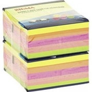 Бумажные блоки SIGMA желтые 76х76 400л, 2шт фото