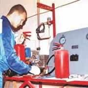 Перезарядка огнетушителей порошкового ОП-1, ОП-2 в Алмате фото