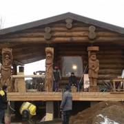 Дома деревянные (срубы) под ключ фото