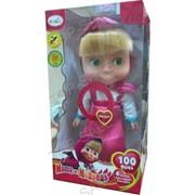 Интерактивная игрушка детская Маша (4 песни, 100 фраз, учим алфавит, учим цвета 047) фото