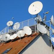 Установка спутниковых антенн фото