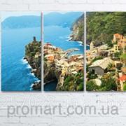 Модульна картина на полотні Vernazza. Cinque Terre National Park код КМ6090-058 фото